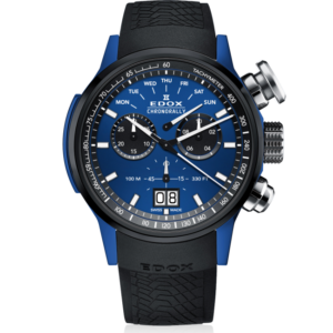EDOX CHRONORALLY 48MM SAUBER F1 QUARTZ CHRONOGRAPH – 38001-TINBU1-BUIB1