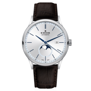 EDOX LES VAUBERTS LA GRANDE LUNE 42MM AUTOMATIC WATCH – 80500-3-AIBU