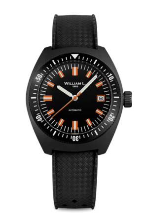 WILLIAM L. 1985 AUTOMATIC VINTAGE DIVER 70′ STYLE – WLD004