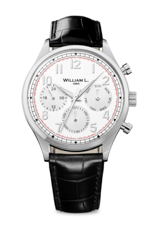 WILLIAM L. 1985 VINTAGE CALENDAR WATCH – WLAC03BOCN