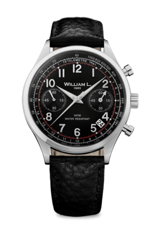 WILLIAM L. 1985 VINTAGE STYLE CHRONOGRAPH – WLAC01NRBN