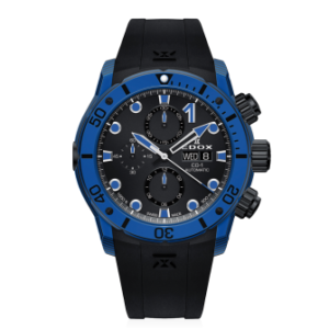 EDOX CO-1 CARBON AUTOMATIC CHRONOGRAPH – 01125-CLNBUN-NINBU