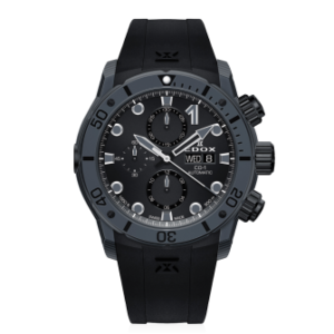 EDOX CO-1 CARBON AUTOMATIC CHRONOGRAPH – 01125-CLNGN-NING