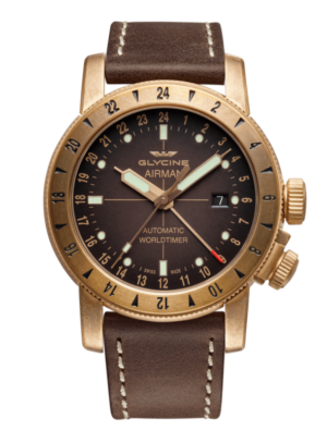GLYCINE AIRMAN 44 BRONZE – GL0166