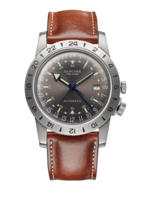 "GLYCINE AIRMAN VINTAGE ""THE CHIEF"" . GL0183"