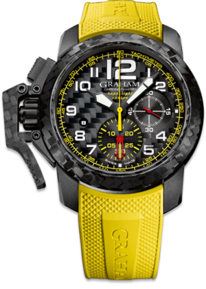 GRAHAM CHRONOFIGHTER CARBON SUPERLIGHT – 2CCBK.B15A