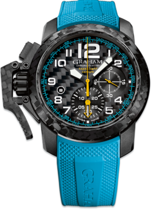 GRAHAM CHRONOFIGHTER CARBON SUPERLIGHT – 2CCBK.B30A
